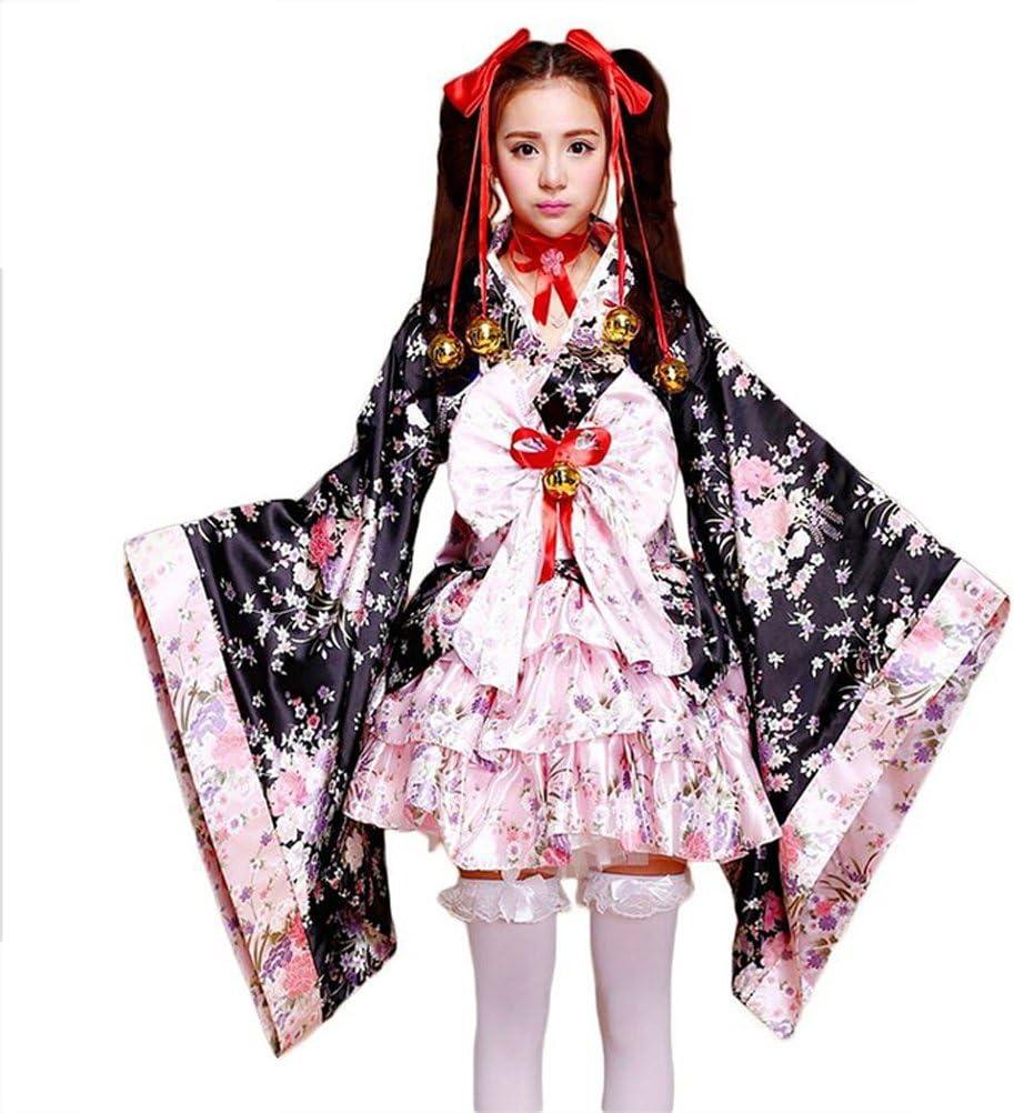 cosplay kimonos cortos japoneses