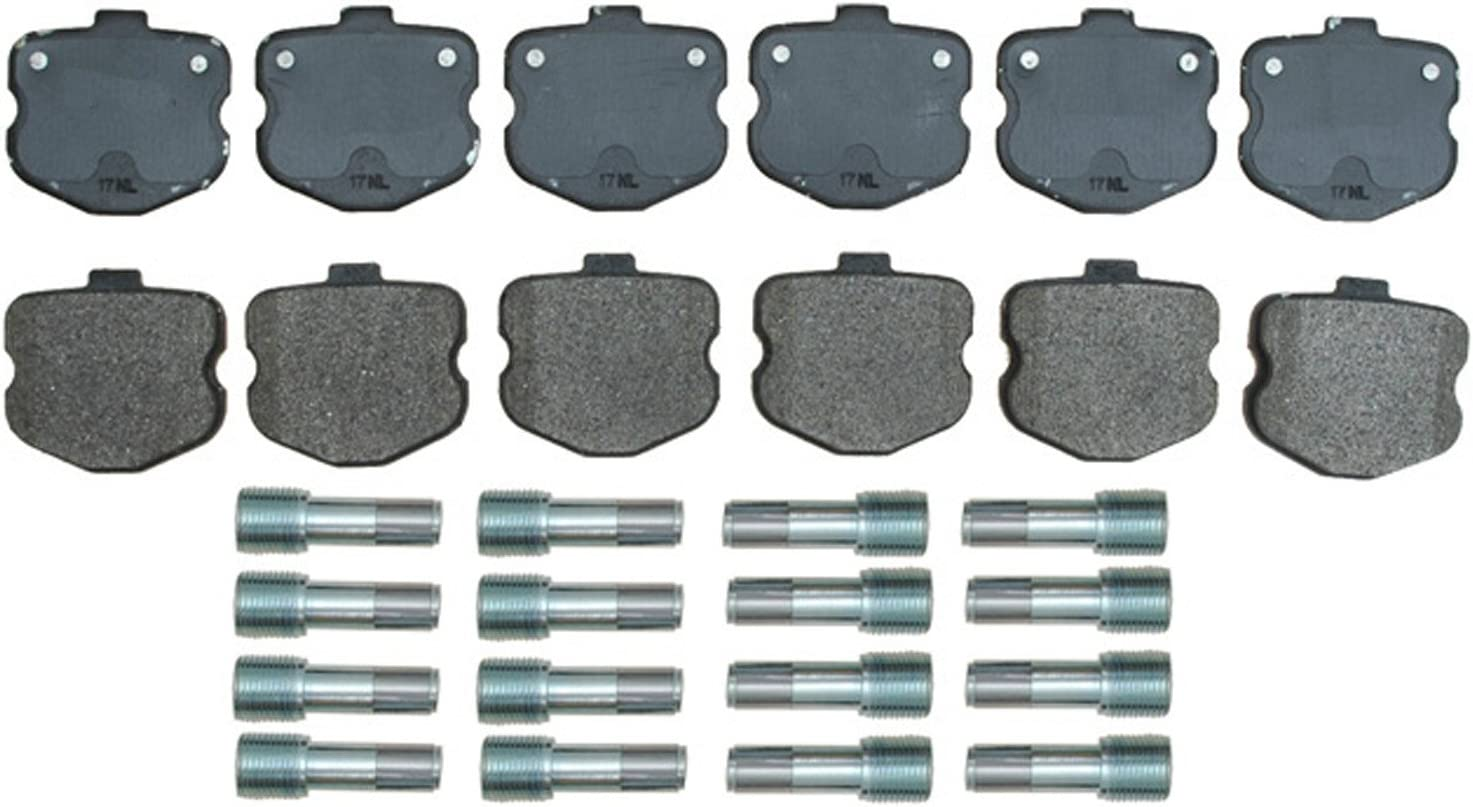 ACDelco 17D1185MH Professional Durastop Semi-Metallic Front Disc Brake Pad Set