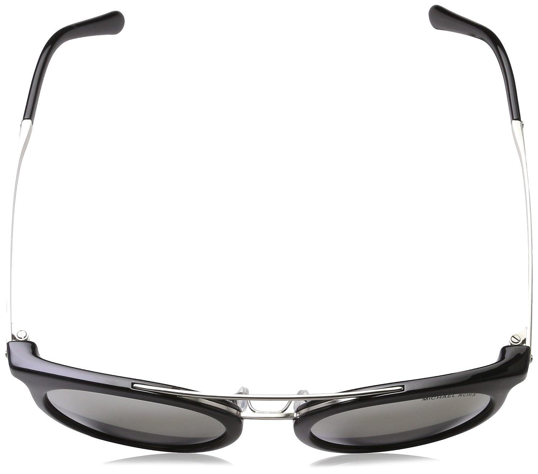 0a5daa3ebb36 MICHAEL KORS Women's ILA 32716G 50 Sunglasses, Black/Silvermirror:  Amazon.co.uk: Clothing