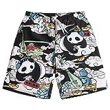 Mens Ultra Quick Dry Panda Musician Fashion Board