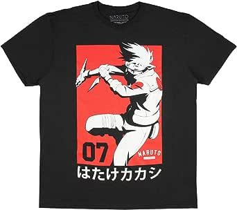 Fashion Naruto Shippuden Collection Black Graphic T-Shirt
