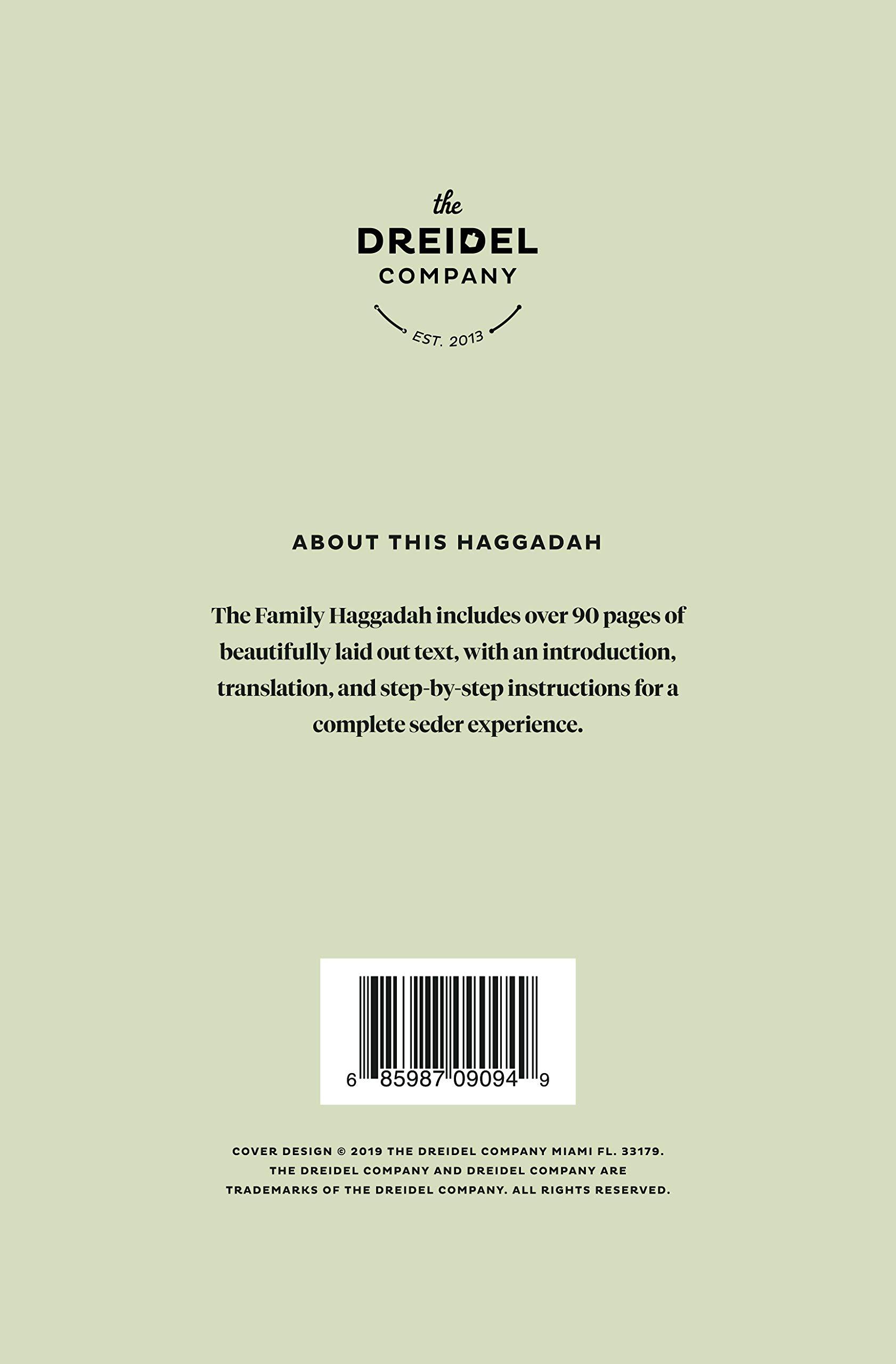 The Family Haggadah Passover Handbook Guide (Family Haggadah, Set of 10) by The Dreidel Company (Image #3)