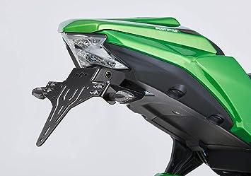 V Shape Kennzeichenhalter Protech Kompatibel Mit Kawasaki Ninja 650 2020 Ex650m 649ccm Auto