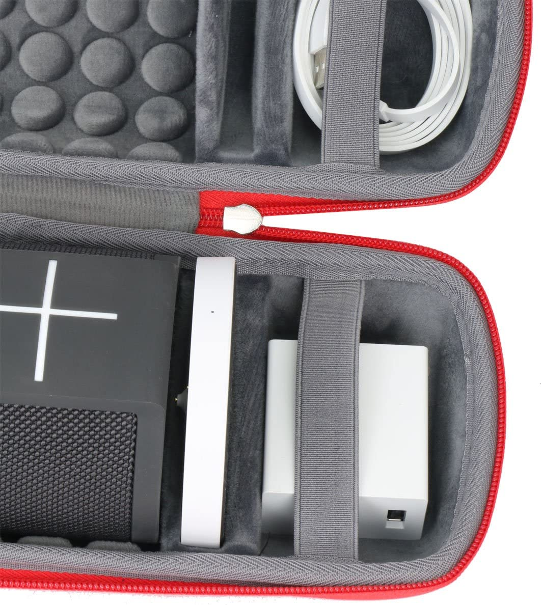 Hard Travel Case for Ultimate Ears MEGABLAST Portable Wi-Fi Bluetooth Speaker by co2CREA Black
