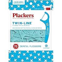 Plackers paquete de hilo doble para flosser, 75