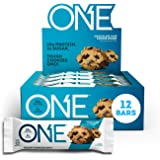 ONE Protein Bars, Chocolate Chip Cookie Dough, Gluten Free Protein Bars with 20g Protein and only 1g Sugar, Guilt-Free…