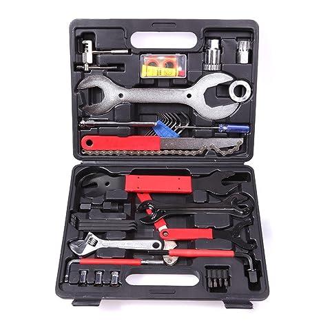 Juego de herramientas de reparación para bicicleta, 44 piezas ...
