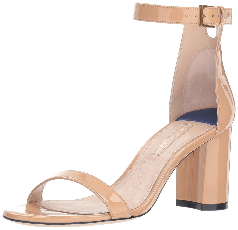 Adobe Cristal Stuart Weitzman Womens Leather Open Toe Casual Ankle Strap Sandals