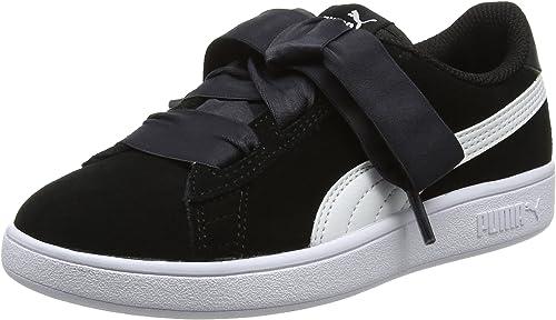 PUMA Smash V2 Ribbon AC PS, Sneakers Basses Mixte Enfant