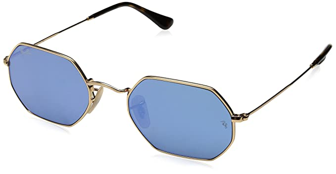 d681068208bc Ray-Ban Mirrored Oversized Unisex Sunglasses - (0RB3556N001 9O53