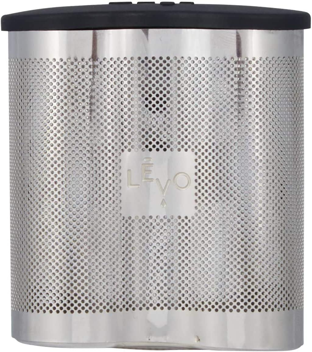 LEVO Power Pod - Stainless Steel Herb Pod Accessory for LEVO I & LEVO II Herbal Infusion Machines - 2x Capacity for More Potent Homemade Herbal Infusions