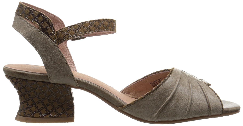 Miz Mooz Women's Elina Flat Sandal B017HMB1ZQ 8 B(M) US Stone