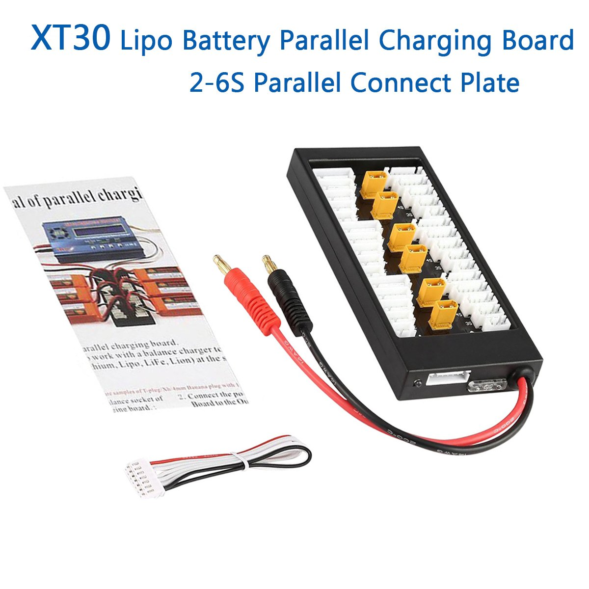 Xt30 Parallel Charging Board 2s 6s 40a Lithium Battery Adapter Wiring Batteries In Expansion Power Supply