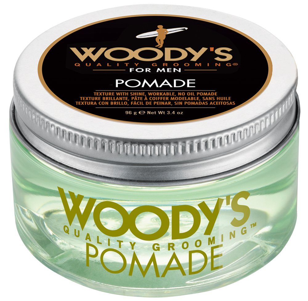 Woody's Pomade for Men, Pomade, 3.4 Ounce Woody' s Pomade for Men WDY90596