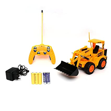 Buy Star Kids Heavy Duty Remote Control Jcb Loader Truck With