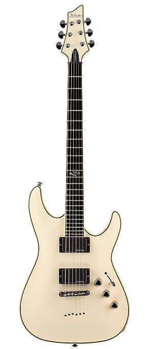 Schecter Blackjack ATX C-1 - Guitarra eléctrica (años blanco ...