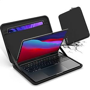 "Smatree Laptop Sleeve 13 inch for MacBook Air 13inch 2018-2020, 13 MacBook Pro Sleeve 2020, 10.2"" iPad 2020 and 2019, 11 iPad Pro Sleeve, MacBook Pro 13 inch Sleeve iPad Carrying Case"