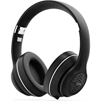 Tribit XFree Tune Over-Ear Wireless Bluetooth Headphones with Built-in Mic (Black)