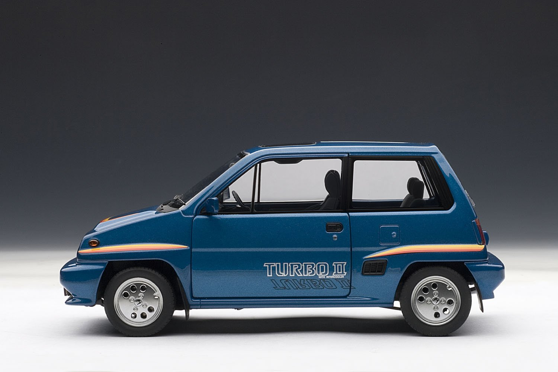 Honda City Turbo II With Motocombo In White 1/18 by Autoart 73283 (japan import): Amazon.es: Juguetes y juegos