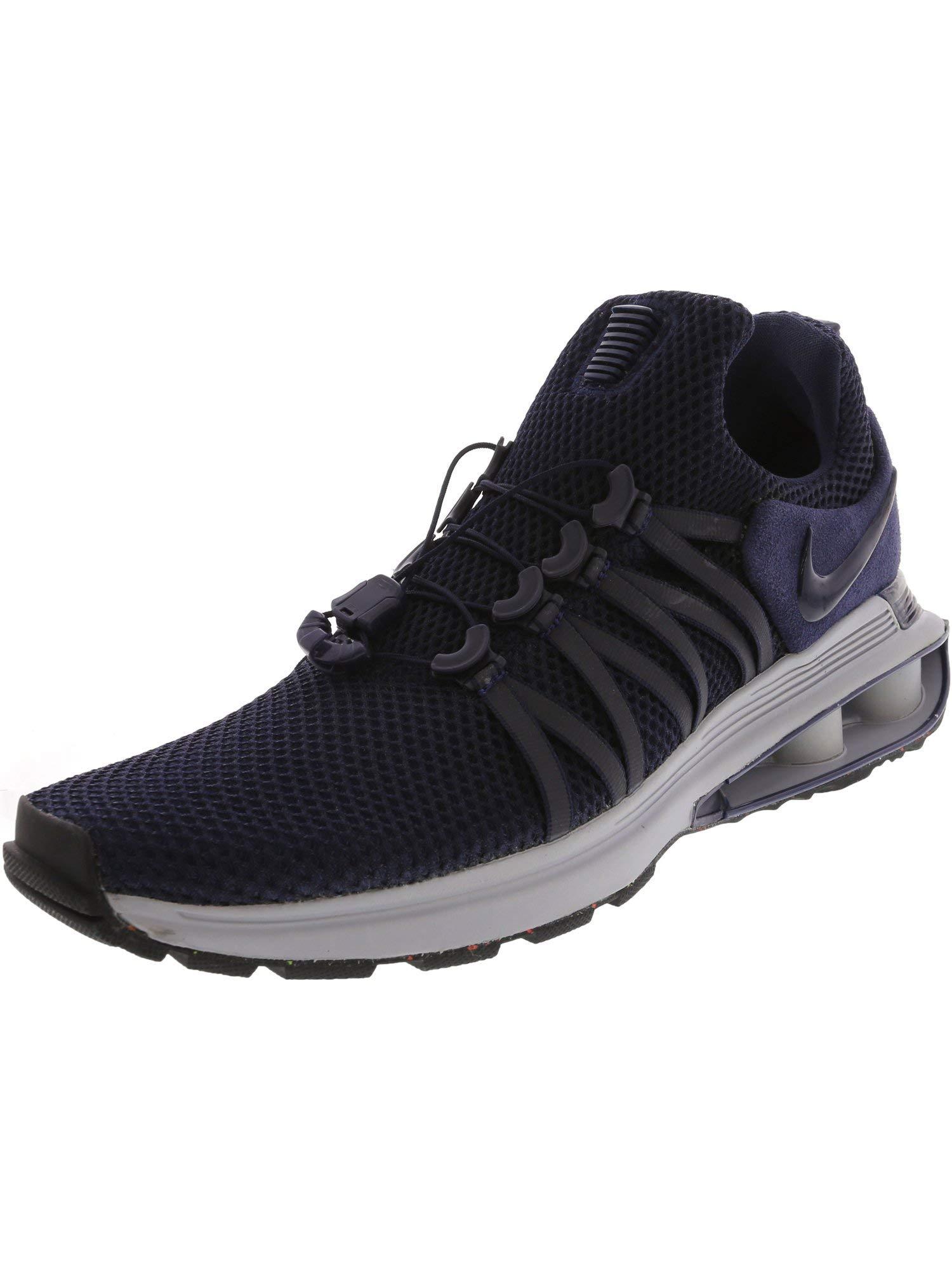 db77c7d1aab Galleon - Nike Men s Shox Gravity Ankle-High Running Shoe - 9.5M -  Obsidian Midnight Navy