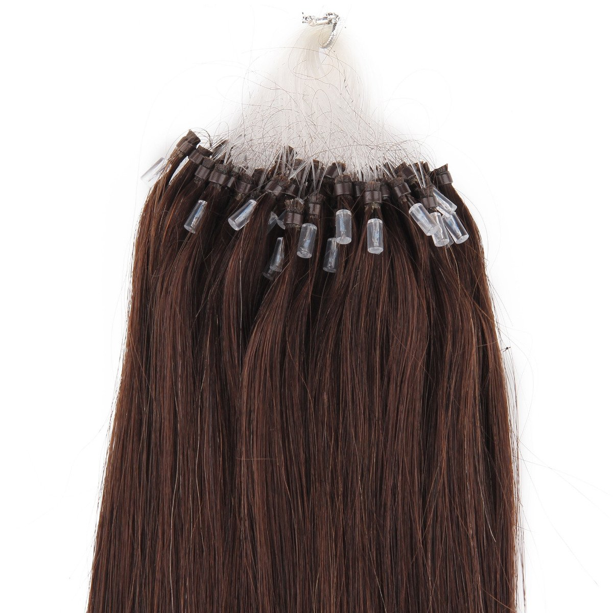 Amazon 18 Remy Loops Micro Rings Beads Tipped Human Hair