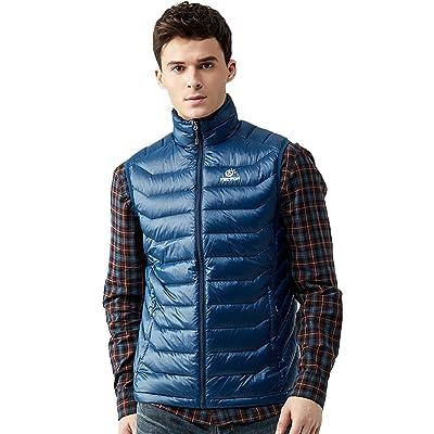 METERDE Men's Lightweight Quilted Down Vest Winter Sleeveless Jacket