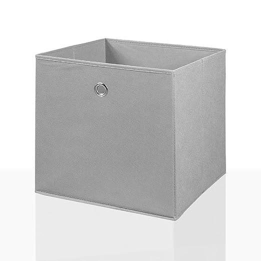 Plegable caja de cesta de almacenamiento de caja de almacenaje cesta 34 x 34 cm: Amazon.es: Hogar