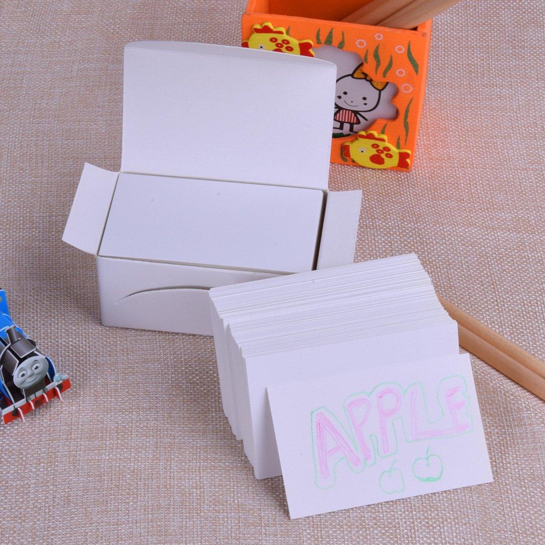 Geschenkkarten Und Zum Basteln Brown White 200 Stück