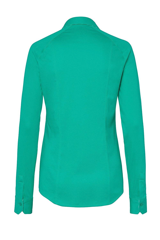 DeSoto strykfri premium – Jersey blus av merceriserad bomull Ritualer (065)