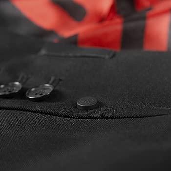Agent 47 Black Musterbrand Hitman Blazer Men Intrigue Two Button