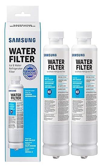 Filtro de agua Samsung, original, para nevera, 2 Pack, blanco, 2 ...
