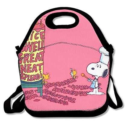 Amazon.com - WSXEDC Lunch Bag Snoopy Peanuts Printing ...