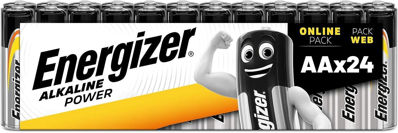 Energizer Batterien Aa Alkaline Power 24 Stück Elektronik
