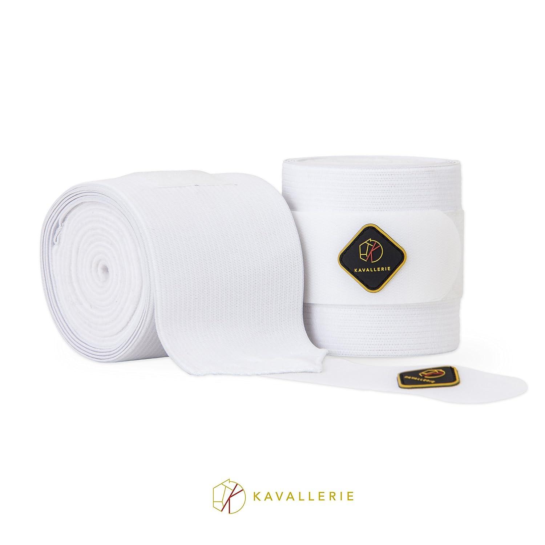 Kavallerie Elasticフリース包帯の馬 ホワイト、、非スリップぴったりとフィット通気性素材Injury保護と優れた脚サポート、ストッキングUpソリューション Kavallerie ホワイト B074WNLW9P ホワイト ホワイト, 大きいサイズのサカゼン:5aba64ef --- kutter.pl