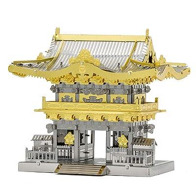 Fascinations Metal Earth Yomeimon Gate 3D Metal Model Kit: Toys & Games