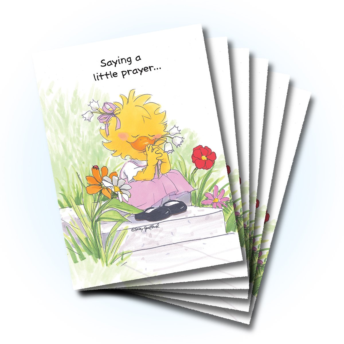 Amazon Suzys Zoo Get Well Greeting Card 6 Pack 10406 Health