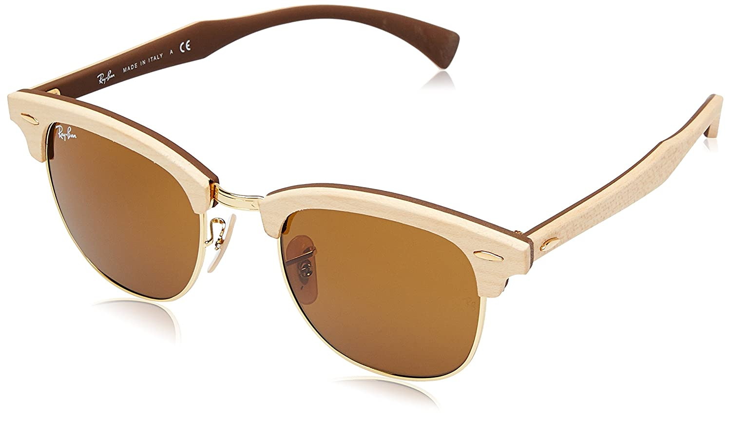 dcfb36772ae Ray-Ban Sonnenbrille CLUBMASTER (RB 3016)  Rayban  Amazon.co.uk  Clothing