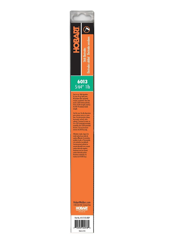 Hobart H117119-RDP 6013 Stick Welding Electrode, 1/16-Inch