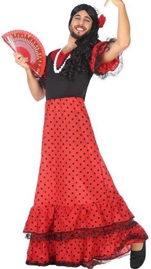 da uomo taglia XL Costume da principessa multicolore donna Atosa 54165 ragazzo