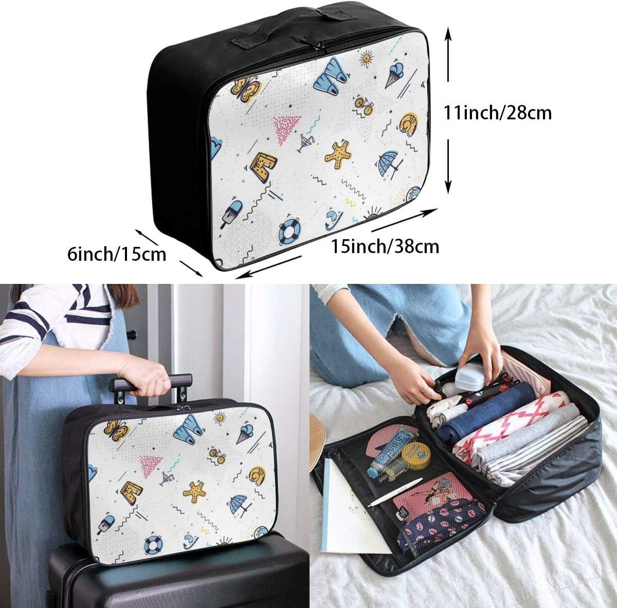 Yunshm Style Summer Customized Trolley Handbag Waterproof Unisex Large Capacity For Business Travel Storage