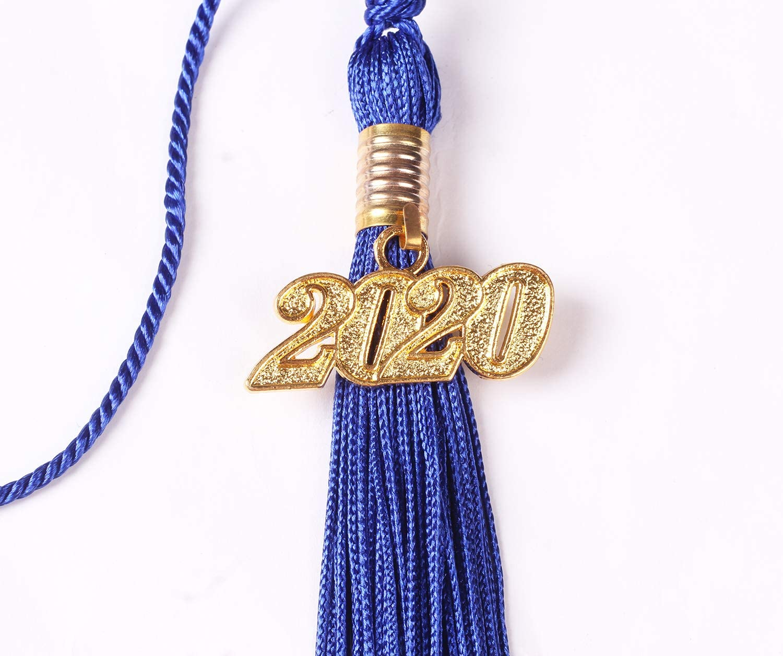 UIALECG Graduation Tassel with Silver 2020 Year Charm