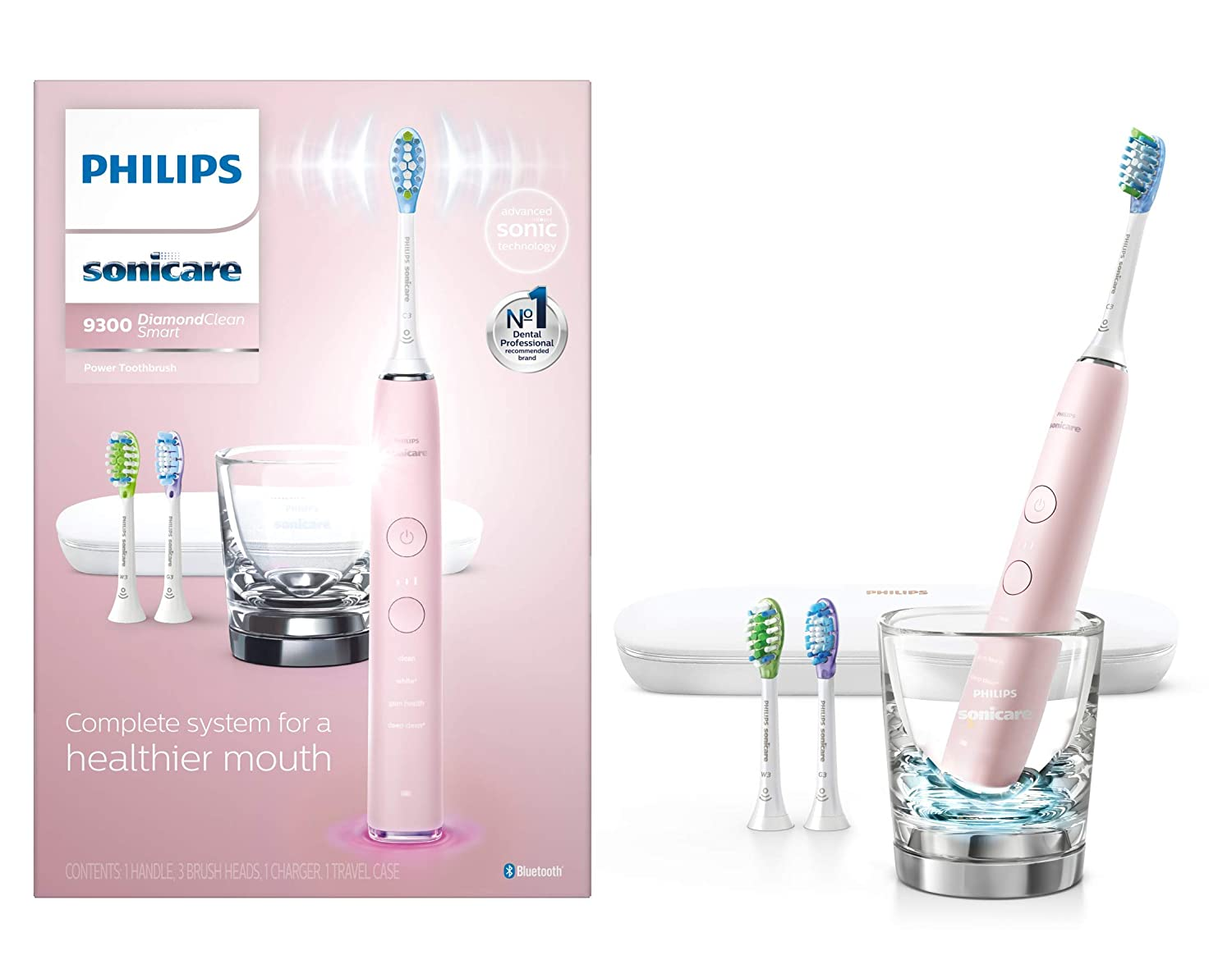 Philips Sonicare DiamondClean 智能蓝牙电动牙刷