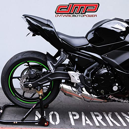 DMP Kawasaki Ninja 650 Z650 Z 650 2017 2018 2019 Fender Eliminator Kit SLR For use with OEM Markers and Plate Lights 670-4515 - MADE IN THE USA