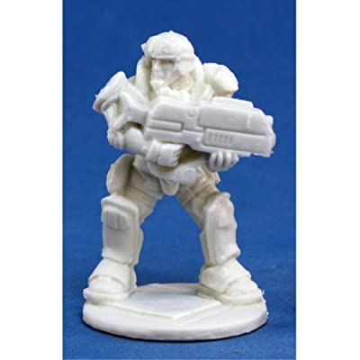Reaper Miniatures 80019 Bones - Chrono Imef Jazz Jenkins 1 Miniature: Toys & Games