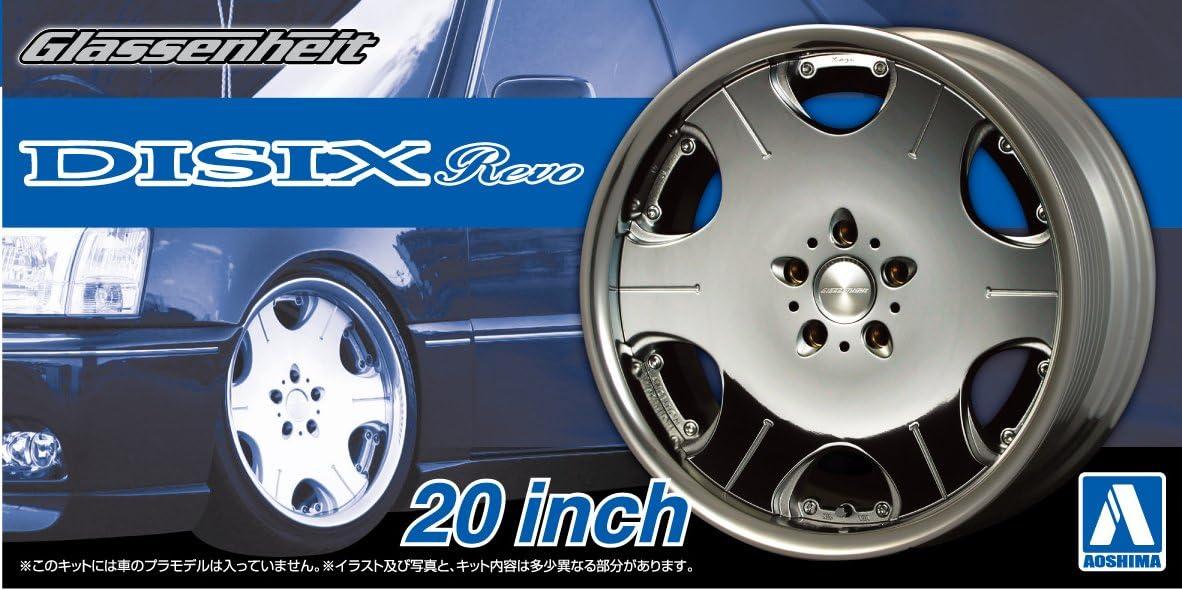 Aoshima 53737 Tuned Parts 40 1//24 Glassenheit Disix Revo 20inch Tire /& Wheel Set