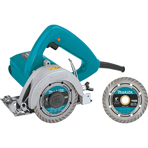 Makita 4100NHX1 4-3 8 Masonry Saw, with 4 Diamond Blade
