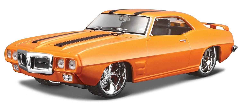 Maisto 1/24 Scale Diecast 31040 - 1969 Pontiac Firebird - Orange B002NSGEK2