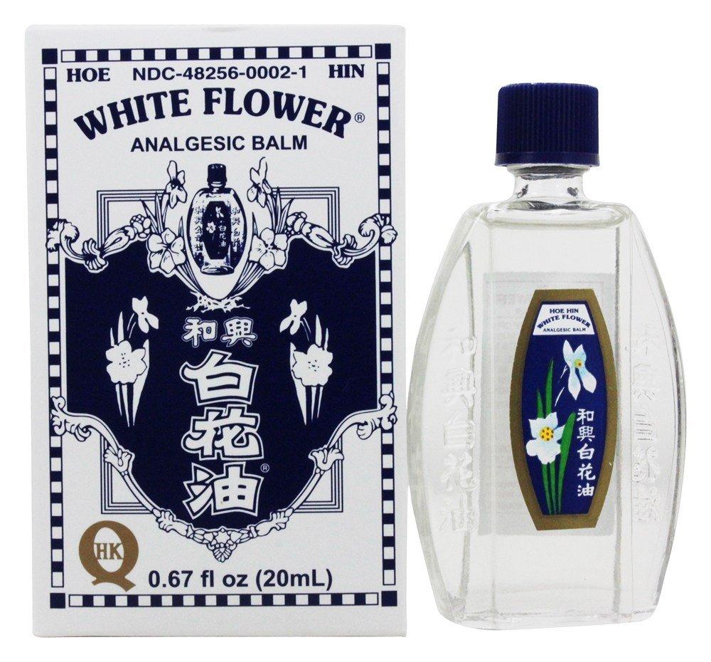 Amazon white flower analgesic balm 20 mililiter 067 ounces amazon white flower analgesic balm 20 mililiter 067 ounces health personal care dhlflorist Images