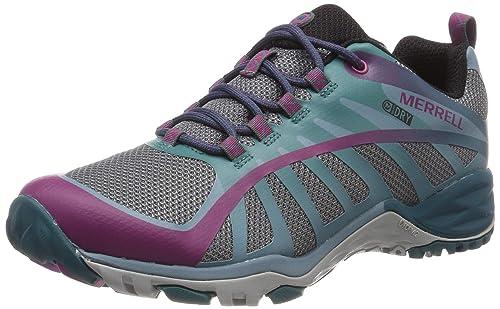 Merrell Siren Edge Q2 Waterproof, Zapatillas de Senderismo para Mujer: Amazon.es: Zapatos y complementos