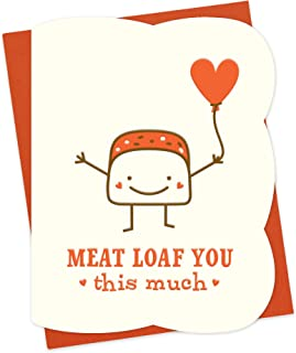 product image for Meat Loaf Letterpress Love Card by Night Owl Paper Goods